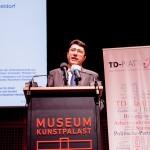 Begrüßungsrede Alattin Tenür, Generalkonsul Düsseldorf, Republik Türkei