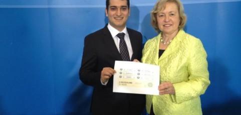 TD-Plattform Präsident zu Besuch bei Staatsministerin Maria Böhmer