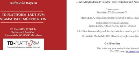 Einladung zum Auftaktstammtisch München