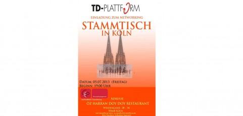 TD-Plattform Stammtisch Köln 05.07.2013