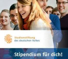 Stipendium für dich!