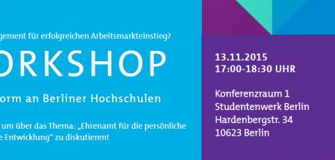 Workshop an Berliner Hochschule