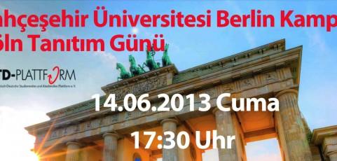 BAHCESEHIR UNIVERSITESI TANITIM PROGRAMI & RESEPSIYONU / Infoveranstaltung & Empfang der Bahcesehir Universität
