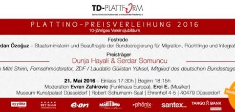 Einladung zur Plattino-Preisverleihung