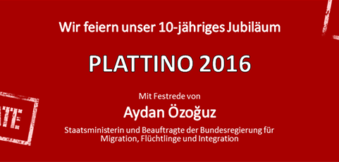 SAVE THE DATE: PLATTINO 2016