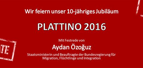 SAVE THE DATE: PLATTINO 2016