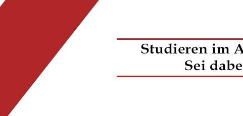 Studieren im Ausland – Sei dabei